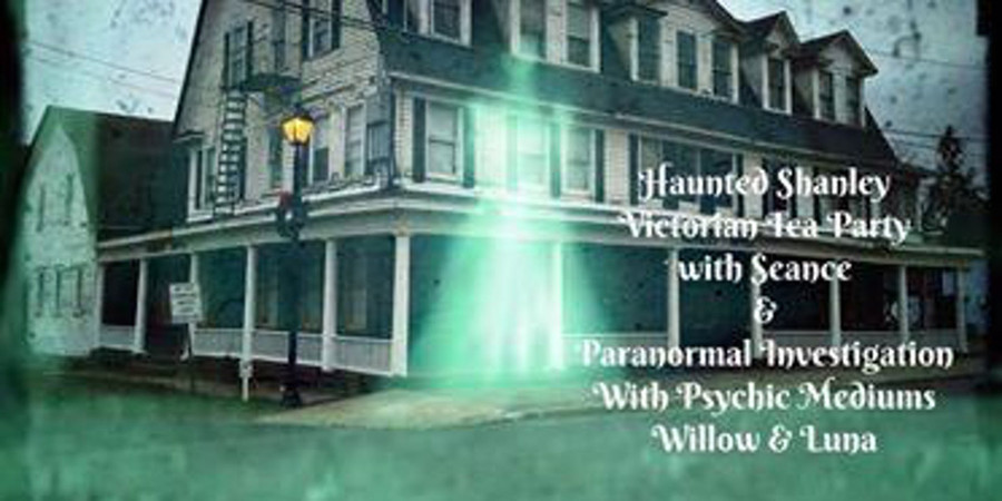 Victorian Tea Party and Seance with Psychic Mediums Luna & Willow | September 21st