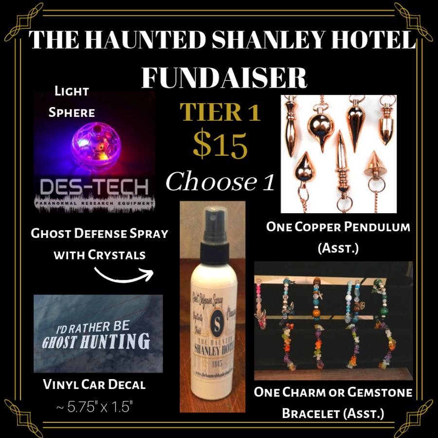 The Haunted Shanley Hotel Fundraiser   Tier 1