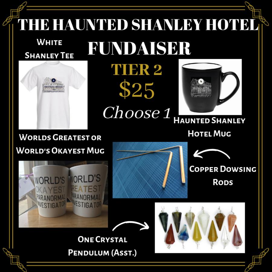 The Haunted Shanley Hotel Fundraiser | Tier 2