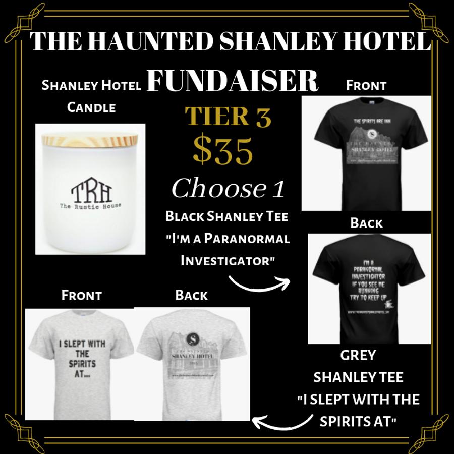 The Haunted Shanley Hotel Fundraiser | Tier 4
