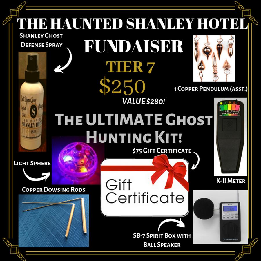 The Haunted Shanley Hotel Fundraiser | Tier 7