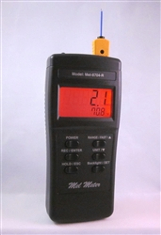 Mel Meter 8704r with Case