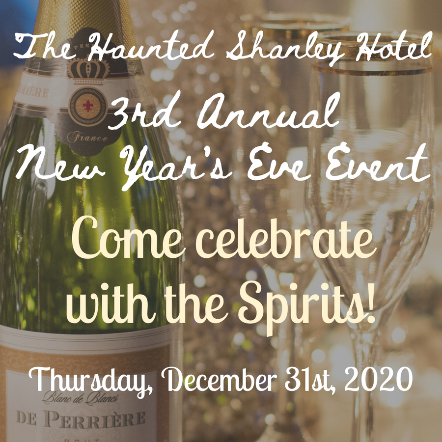 December 31st | 3rd Annual New Year's Eve Event