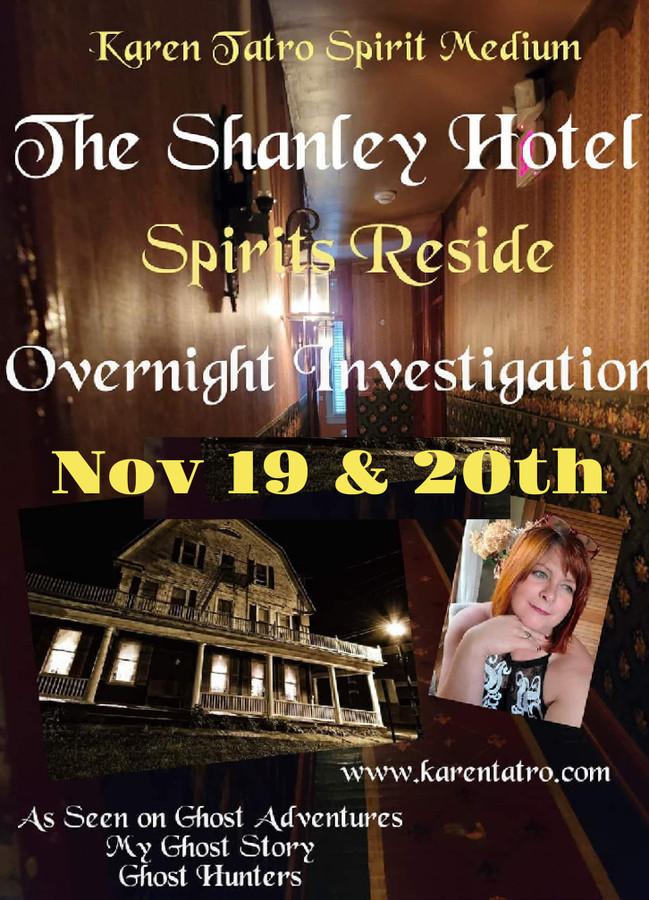 Karen Tatro Shanley Weekend   November 19th & 20th