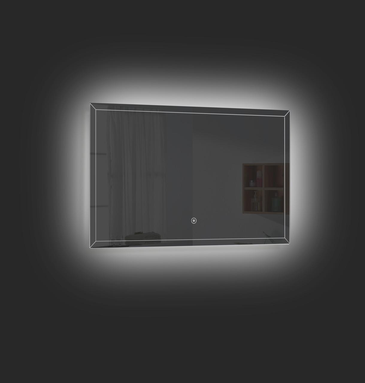 Fero 36 Inch Wall Mounted Bathroom Mirror With Led Light
