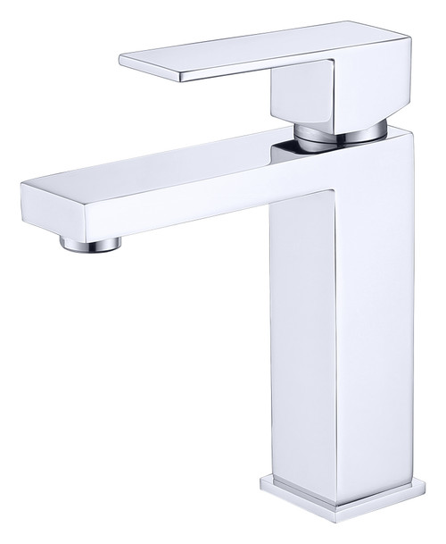 MODERN SINGLE HOLE FAUCET IN CHROME\MP006