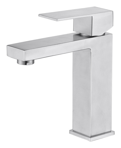 MODERN SINGLE HOLE FAUCET IN BRUSH NICKEL\MP006L