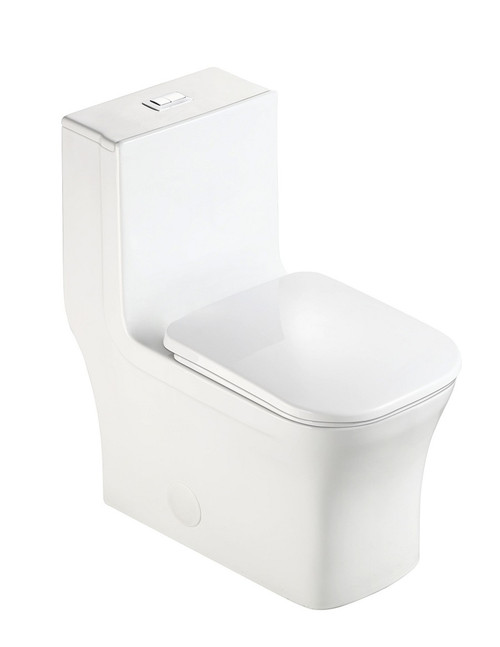 MORENO ONE-PIECE DUAL FLUSH TOILET W/ SOFT CLOSING SEAT UPC APPROVAL-K-0329DF