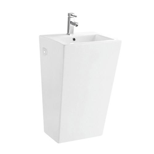 Korela KR-6012 White Pedestal Sink