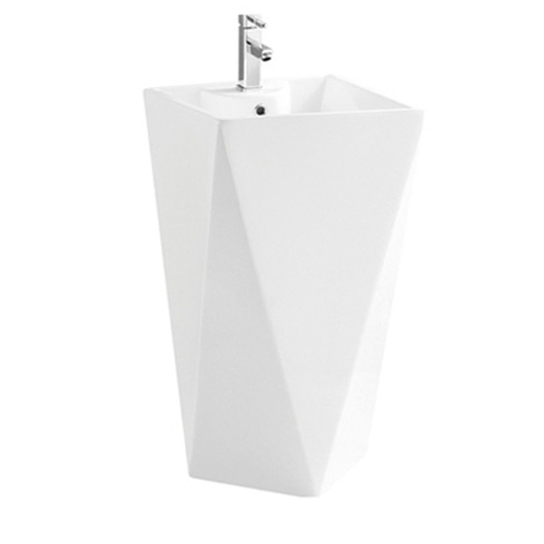 Moreno Korela KR-6010 White Pedestal Sink