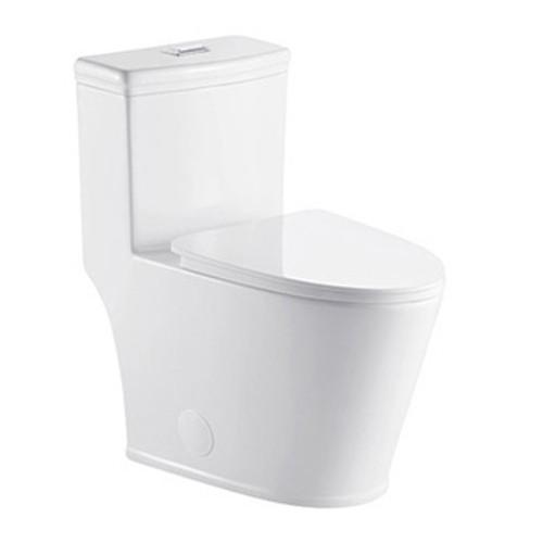 MORENO ONE-PIECE DUAL FLUSH TOILET W/ SOFT CLOSING SEAT UPC APPROVAL-K0398