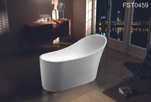 """ZILLING 59"""" FREE STANDING BATHTUB / CUPC APPROVAL--LA LOCAL PICK ONLY"""