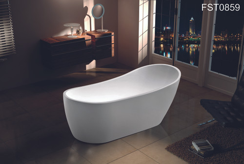 """ZILLING 60"""" FREE STANDING BATHTUB / CUPC APPROVAL--LA LOCAL PICK ONLY"""