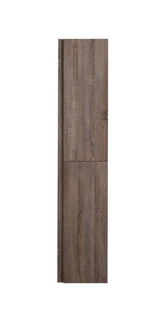 "JADE 67"" S-OAK BATHROOM LINEN SIDE CABINET W/ 2 STORAGE AREAS"