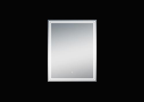 Luna 24'' Polished Edge Back-lit LED Mirror (30''Height)