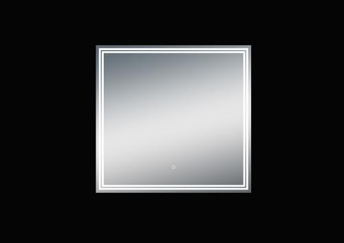 Luna 32'' Polished Edge Back-lit LED Mirror (30''Height)