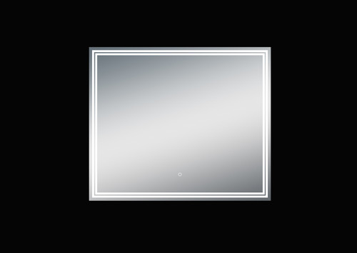 Luna 36'' Polished Edge Back-lit LED Mirror (30''Height)