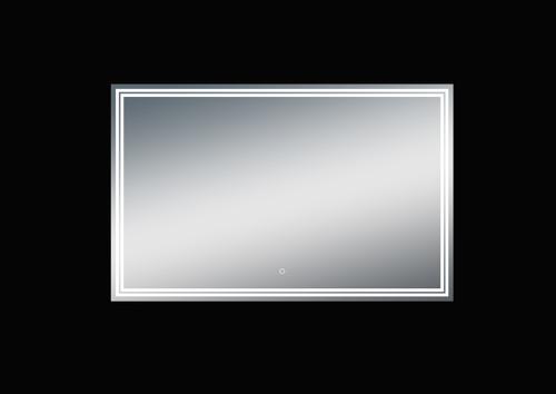 Luna 47'' Polished Edge Back-lit LED Mirror (30''Height)