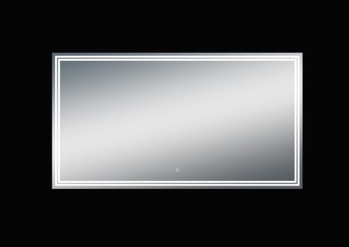 Luna 55'' Polished Edge Back-lit LED Mirror (30''Height)