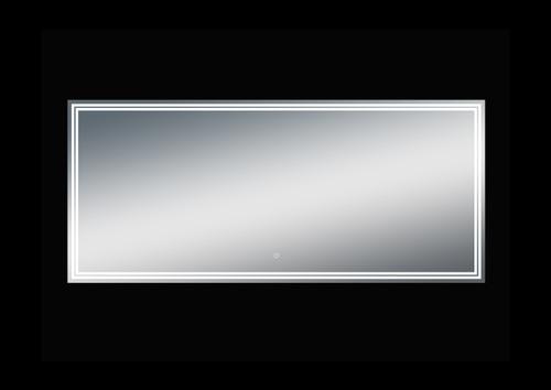 Luna 68'' Polished Edge Back-lit LED Mirror (30''Height)