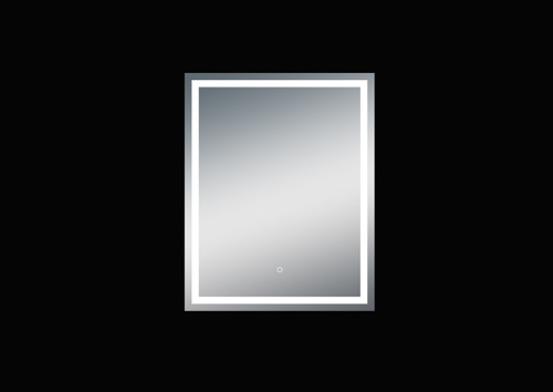 Fiona 32'' Polished Edge Frosted Panel LED Mirror (40''Height)