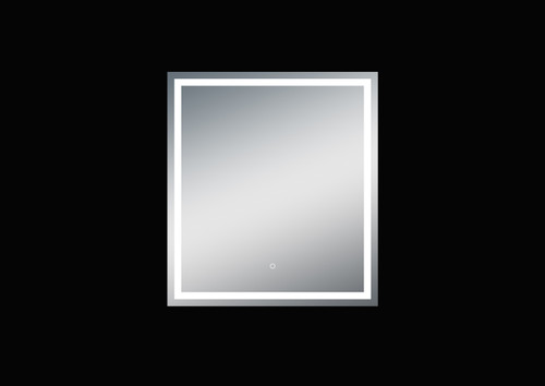 Fiona 36'' Polished Edge Frosted Panel LED Mirror (40''Height)