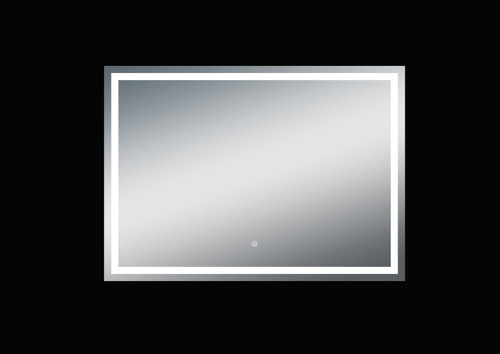 Fiona 55'' Polished Edge Frosted Panel LED Mirror (40''Height)