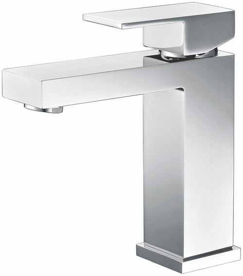Chrome Angular Modern Single Lever Faucet
