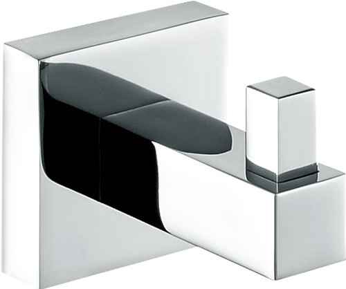 Chrome Square Robe Hook