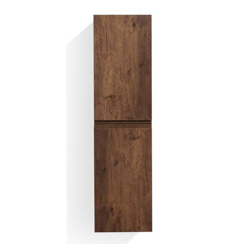 MORENO MOB ROSEWOOD BATHROOM LINEN SIDE CABINET W/ 2 STORAGE AREAS