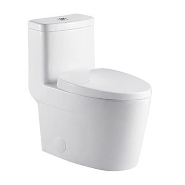 MORENO ONE-PIECE DUAL FLUSH TOILET W/ SOFT CLOSING SEAT UPC APPROVAL-K0328