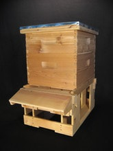 8 Frame and 10 frame hive stand
