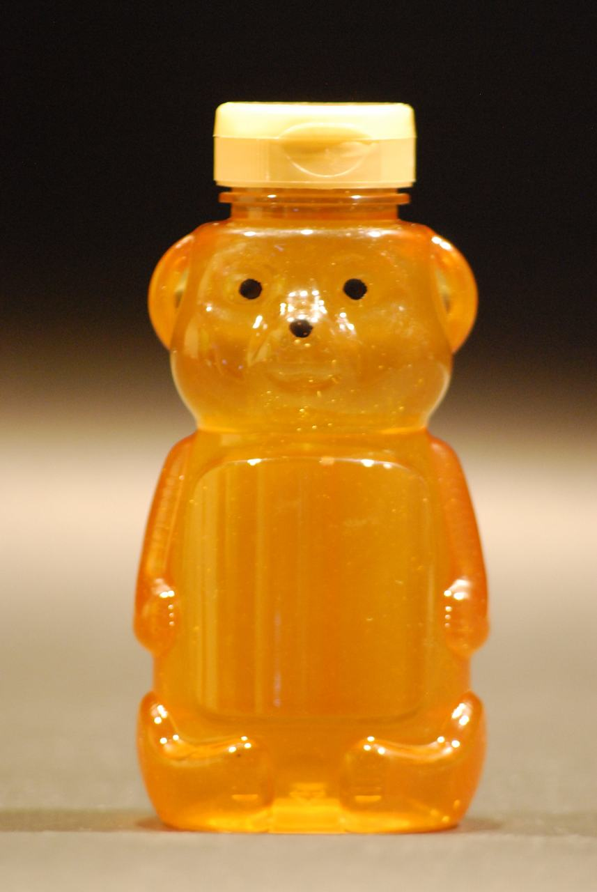 16 oz. plastic honey bear containers - case of 50