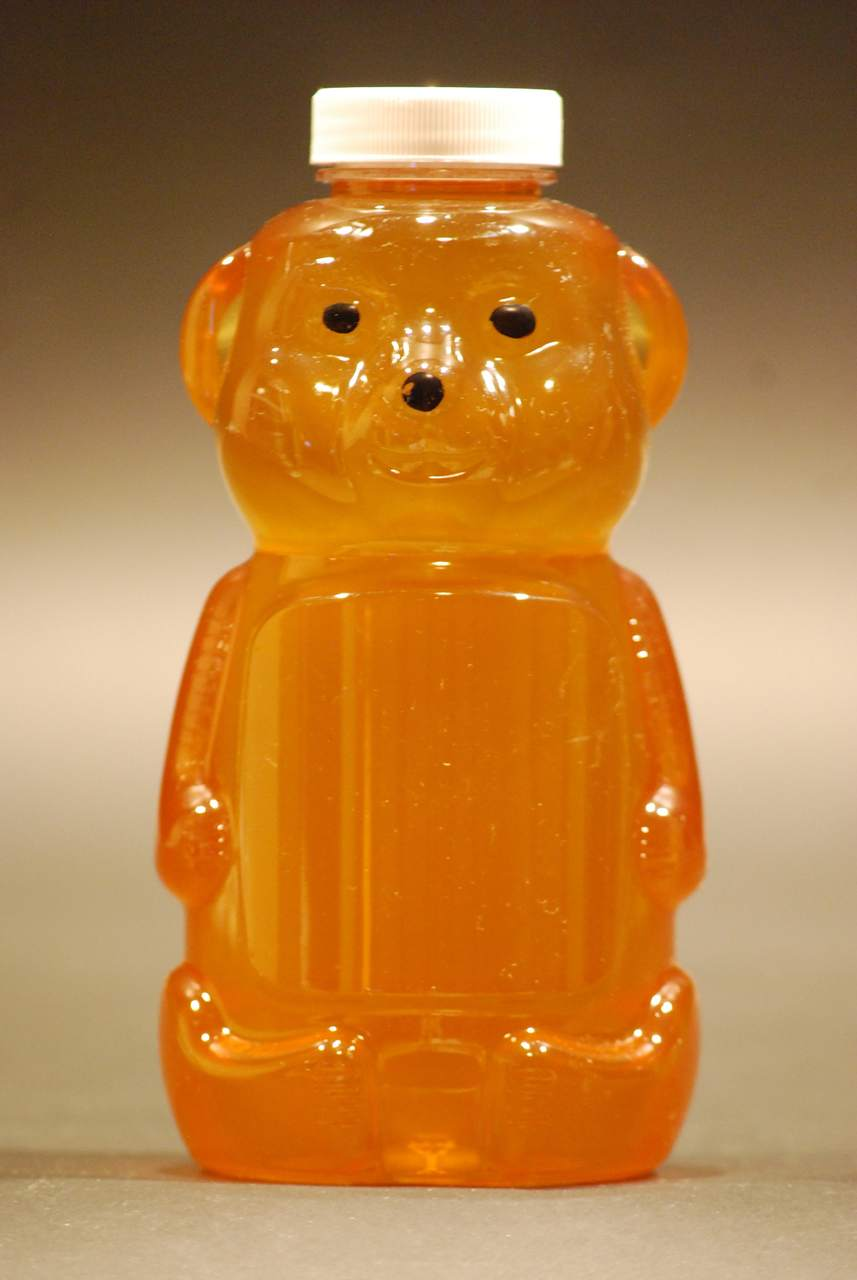 16 oz. clear honey bears - case of 200