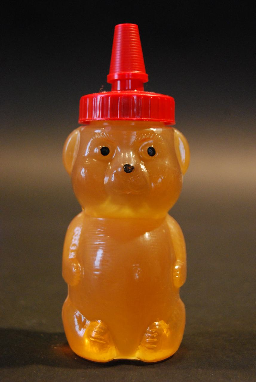 8 oz. extra soft squeezable honey bears - case of 50