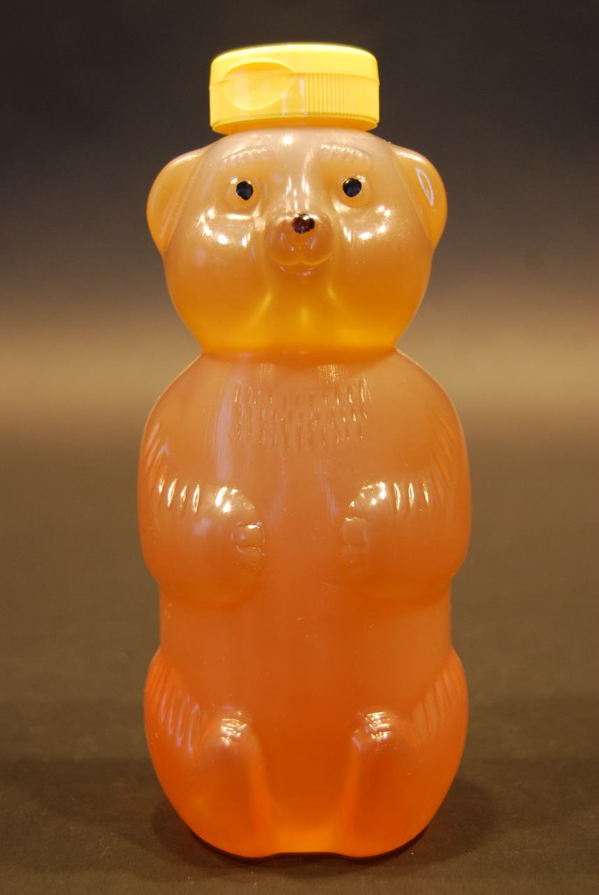 32 oz. extra soft squeeze plastic honey bear containers - case of 100
