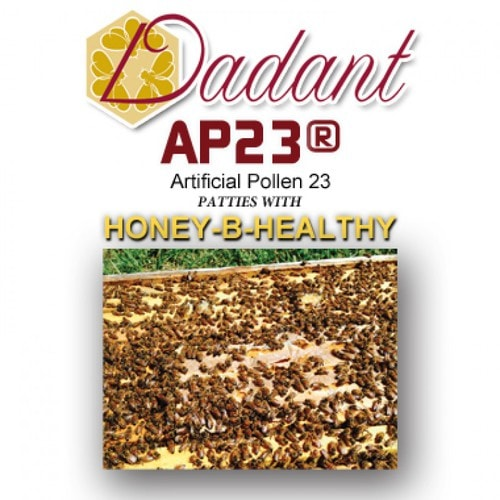 AP23 pollen patties with Honey-B-Healthy, case of 40 pounds