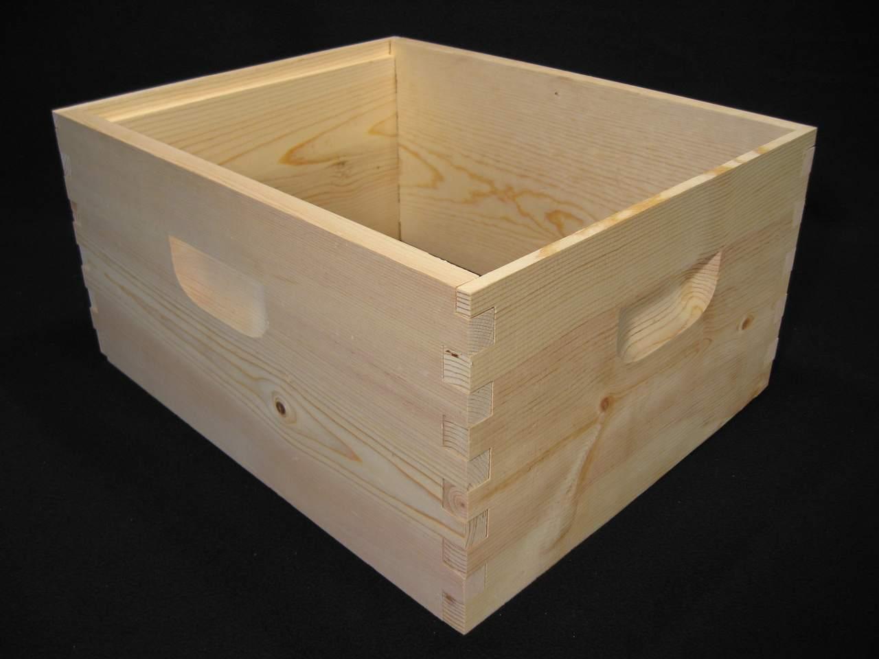 "Unassembled 9-5/8"" Deep Hive Body - 8 Frame or 10 Frame"