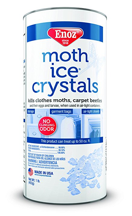 Wax Moth Crystals - 16 oz. Canister