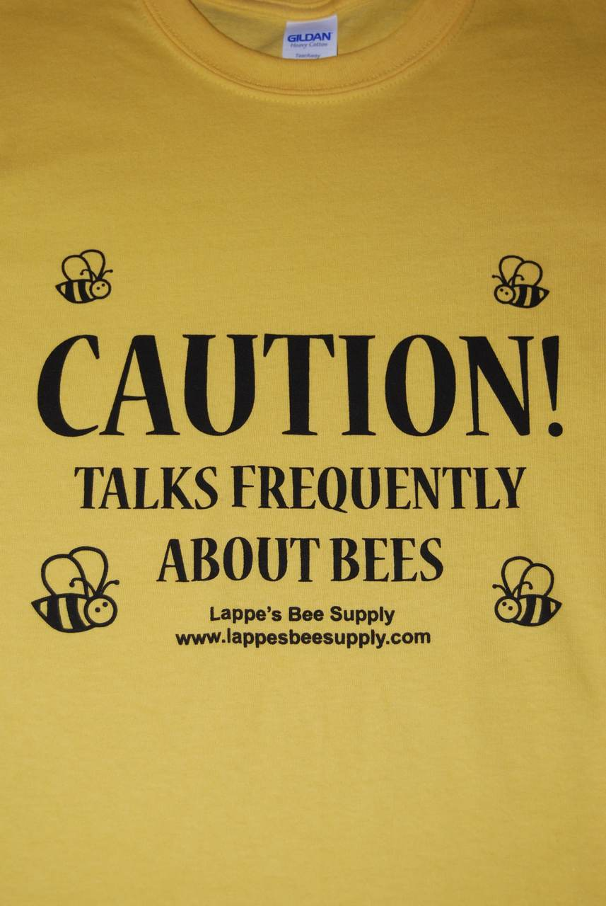 Beekeeping T-Shirt Caution Talks Frequently About Bees