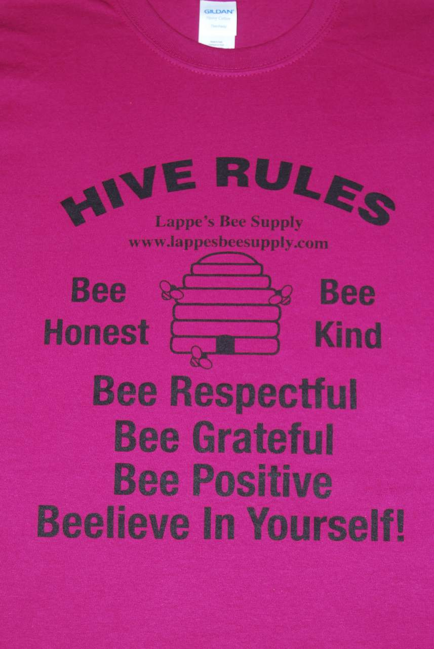 Beekeeping T-Shirt Hive Rules