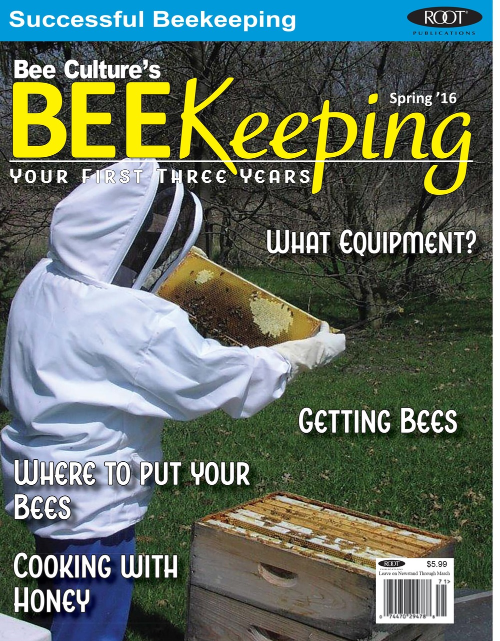 BEEKeeping Your First 3 Years - USA Subscription