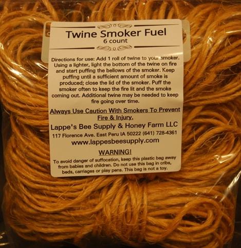 Untreated Sisal Twine Rolls Smoker Fuel