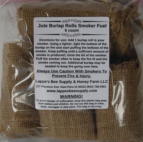 Jute Burlap Rolls Smoker Fuel