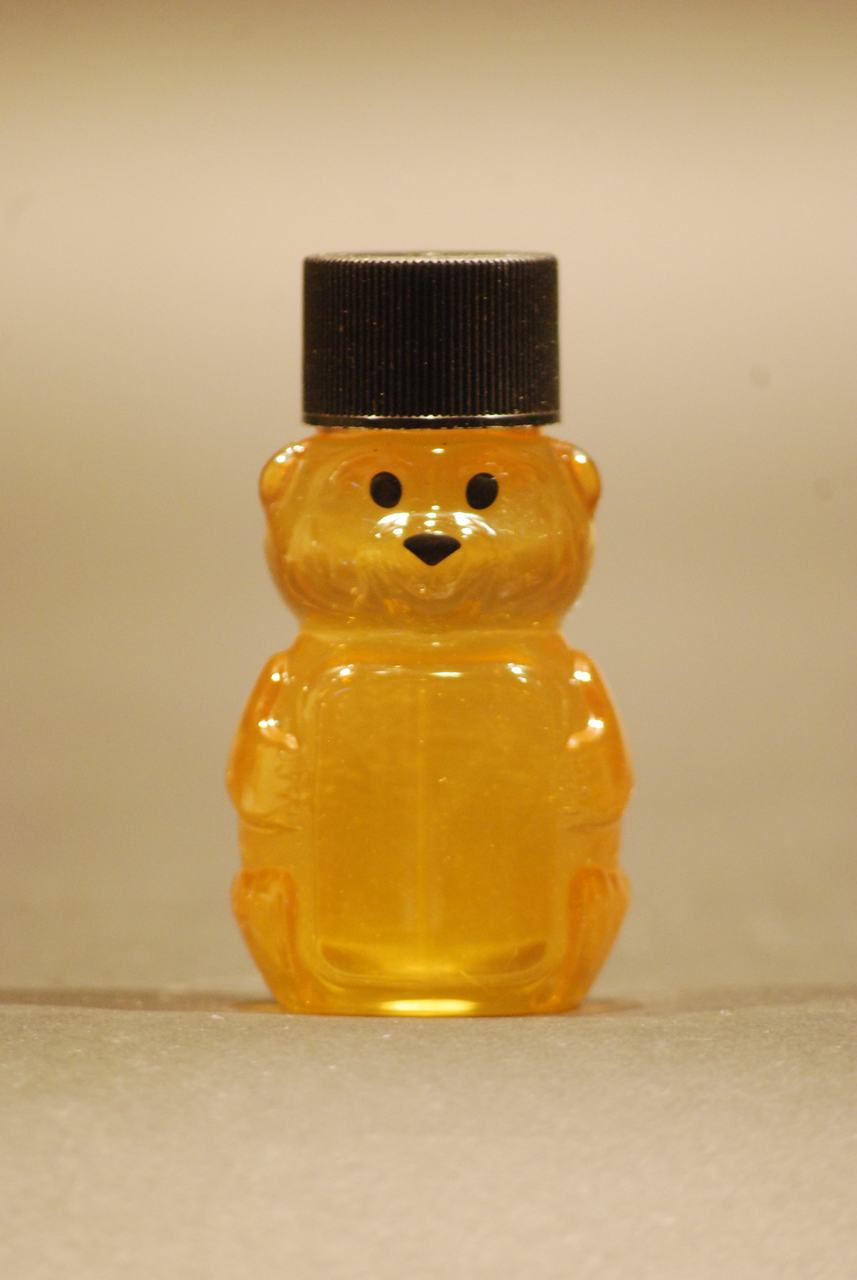 2 oz. plastic honey bear containers - case of 50