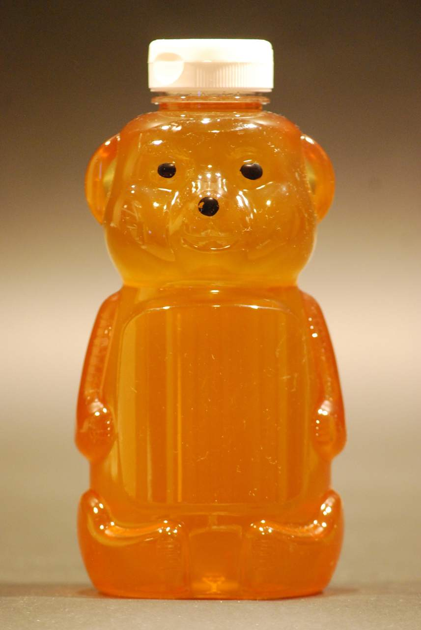 32 oz. Plastic Honey Bear Containers - Case of 100