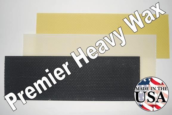 "5-5/8"" Premier Heavy Wax Foundation"