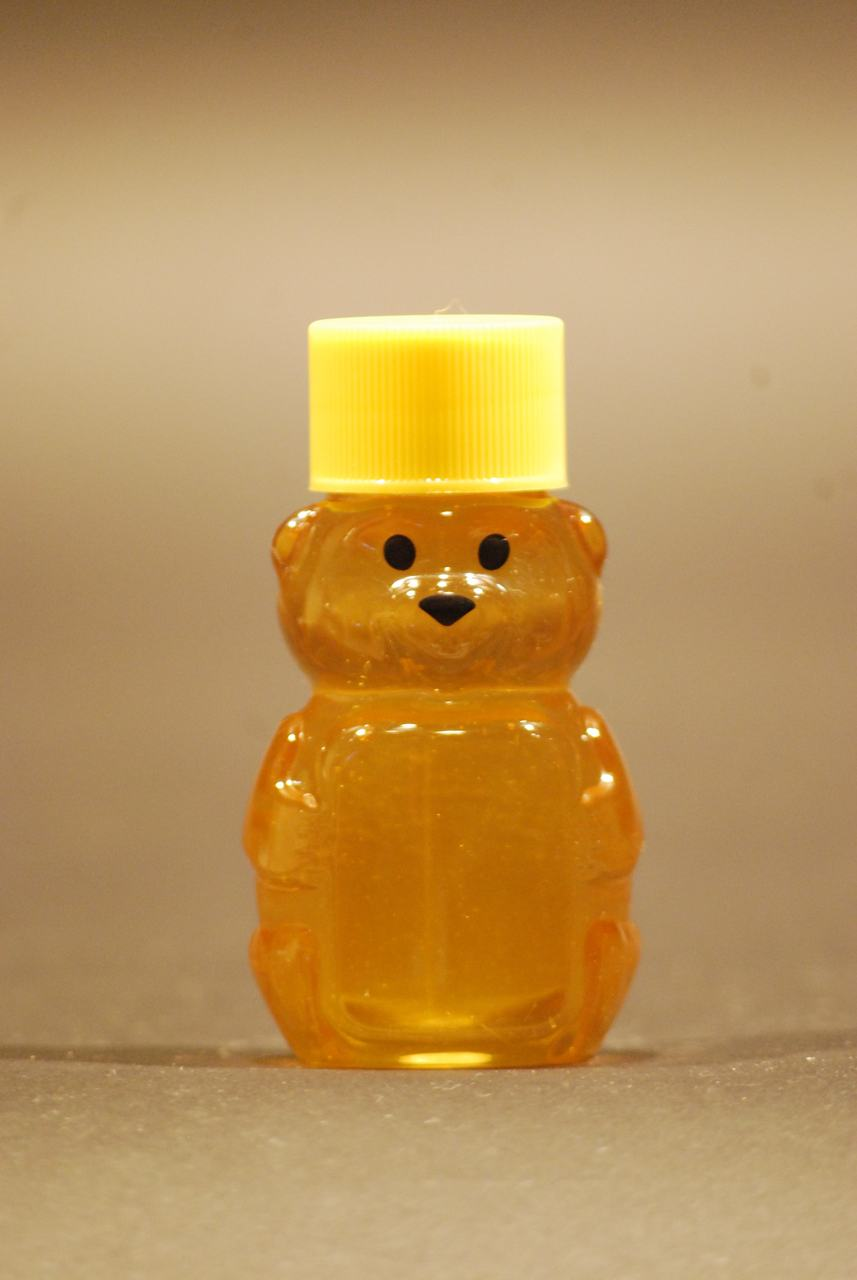 2 oz. plastic honey bear containers - case of 800
