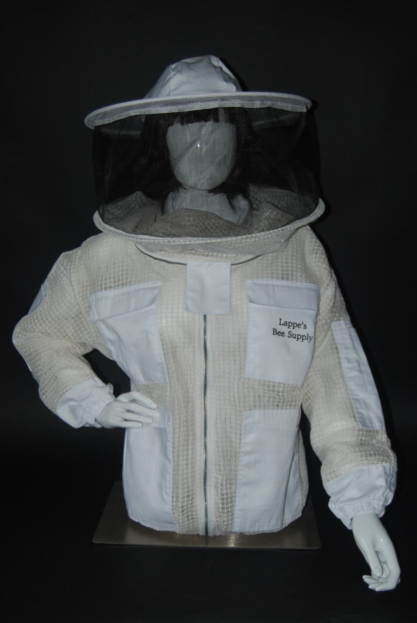 Ventilated Bee Jacket with Round Veil