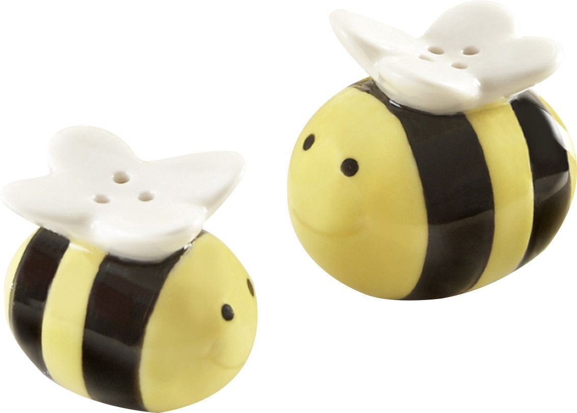 Honey Bee Salt and Pepper Shakers